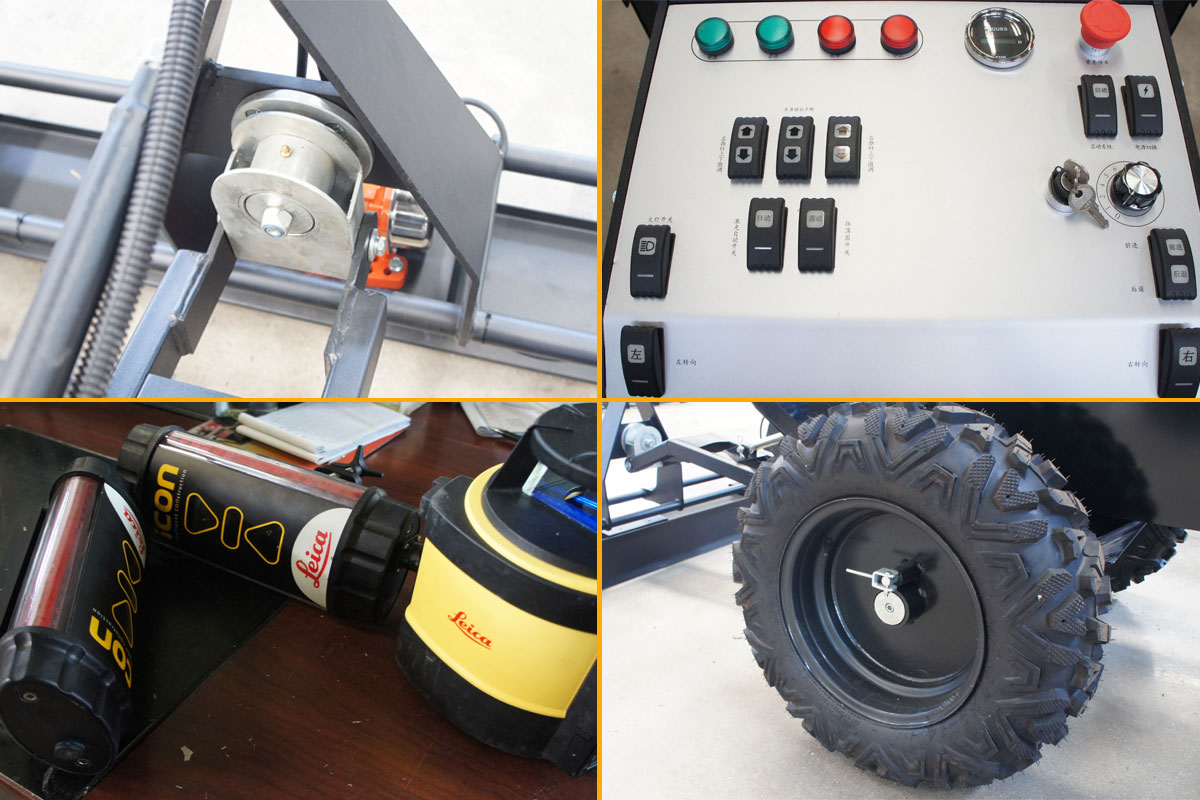 parts-of-the-walk-behind-concrete-laser-screed-machine