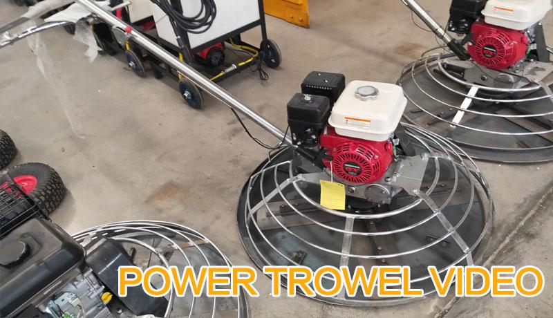 POWER TROWEL